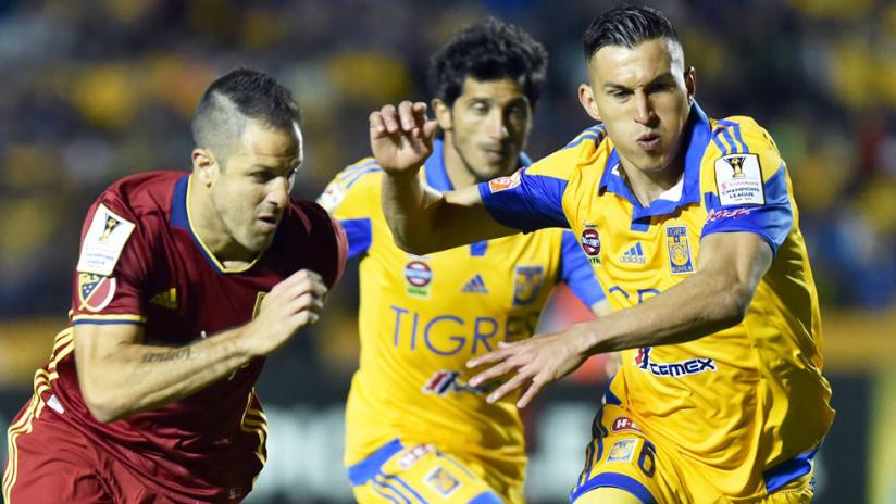 Juan Manuel Martinez - Real Salt Lake vs. Tigres and Jorge Torres - Feb. 24, 2016