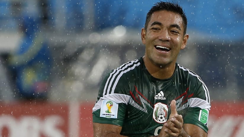 Marco Fabian - Mexican national team - Smiling