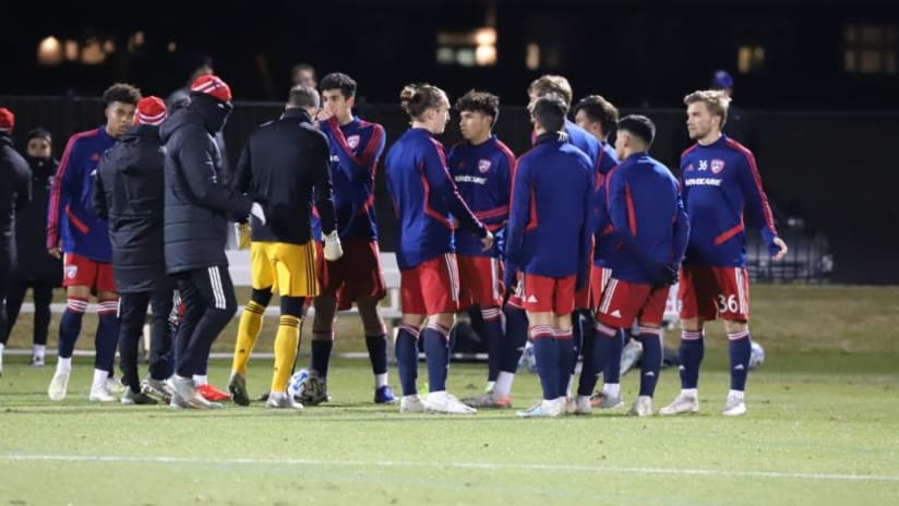 FC Dallas during (or before/after) preseason game
