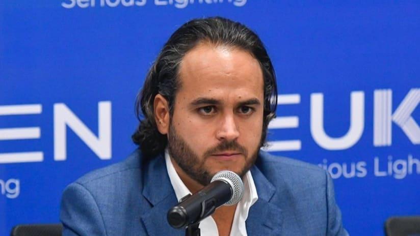 Jesus Martinez Murguia - Club Leon president