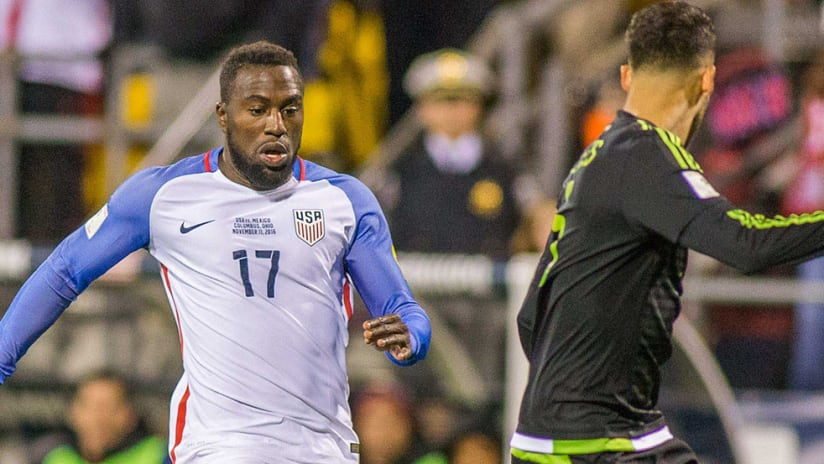 Jozy Altidore - United States - World Cup qualifier - Mexico