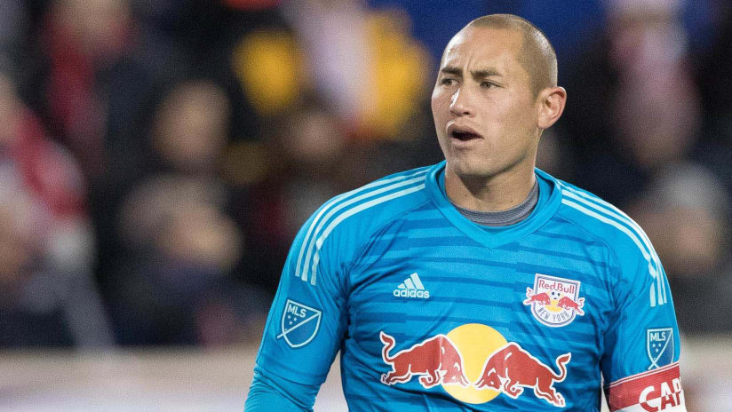 Luis Robles - New York Red Bulls - close-up