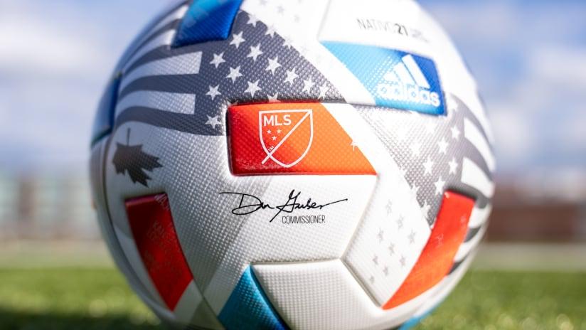 2021 Match Ball - Commissioner signature