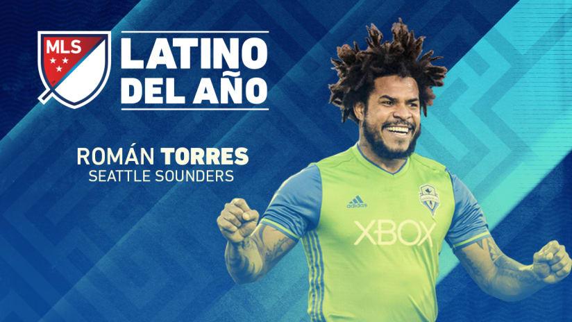 Roman Torres - 2016 Latino del Ano