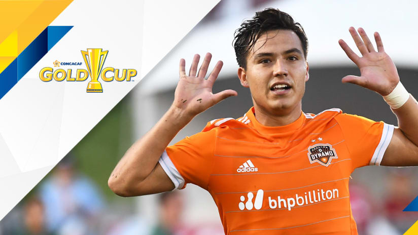 Gold Cup - Erick Torres - Houston Dynamo jersey