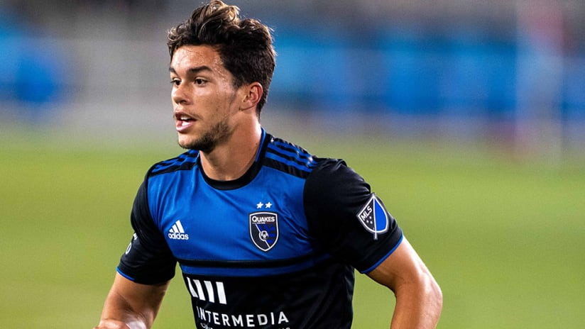 Cade Cowell - San Jose Earthquakes - cropped in