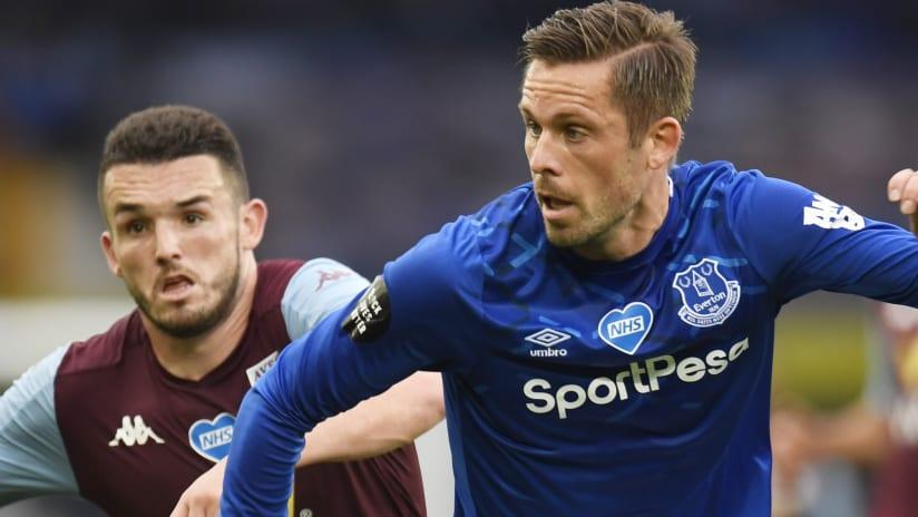 Gylfi Sigurdsson action - Everton