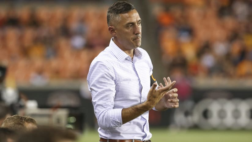 Davy Arnaud - Austin FC - coaching the Houston Dynamo