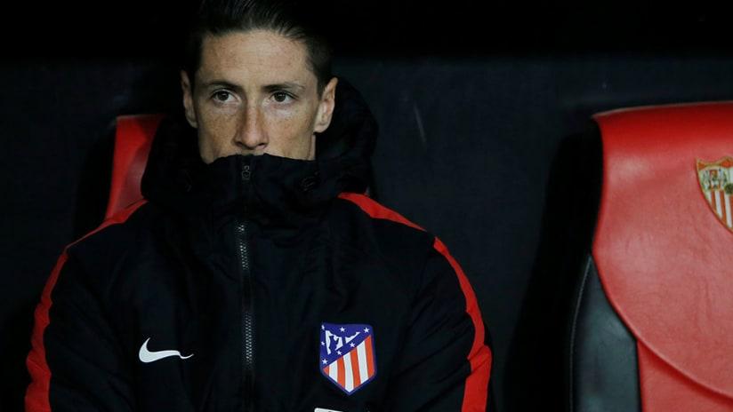 Fernando Torres - Atletico Madrid - On Bench