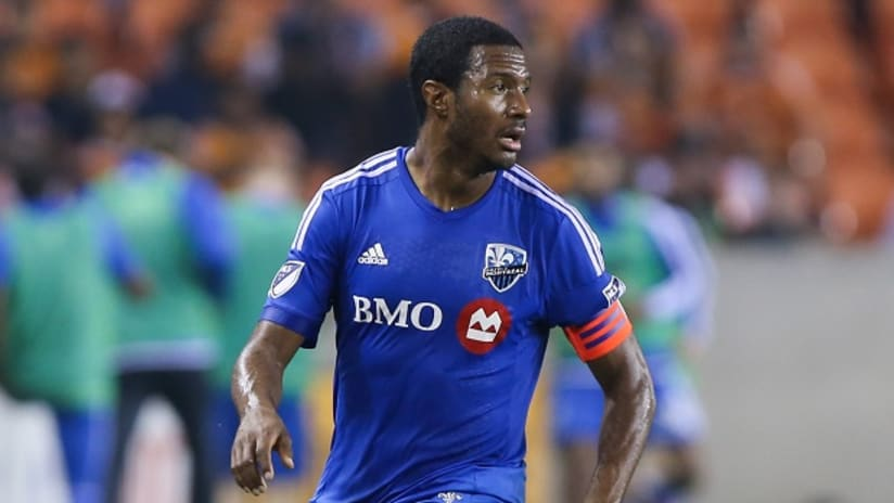 Patrice Bernier in action for the Montreal Impact