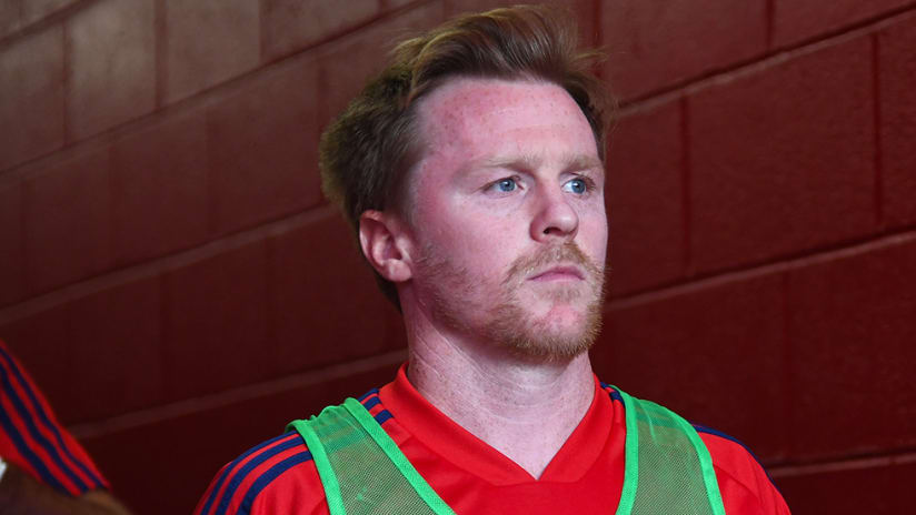 Dax McCarty –tight shot –Chicago Fire