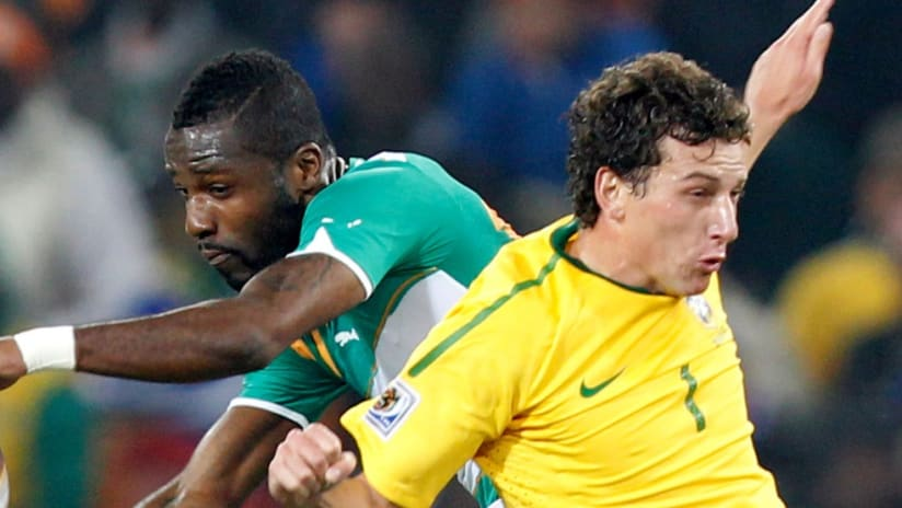 Ivory Coast defender Siaka Tiene