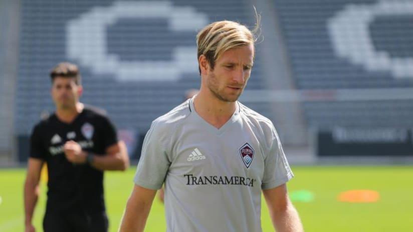 Stefan Aigner - Colorado Rapids - in training