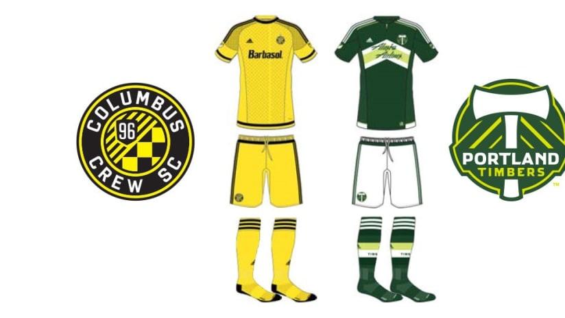 2015 MLS Cup Jerseys