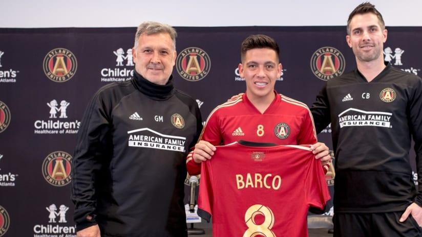 Ezequiel Barco - Carlos Bocanegra - Tata Martino - Atlanta United - introduction
