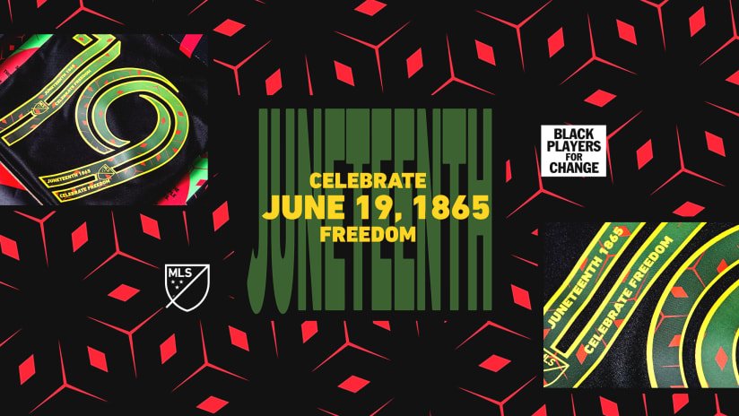 MLS and BPC to mark Juneteenth with limited-edition jerseys, playing of Black National Anthem