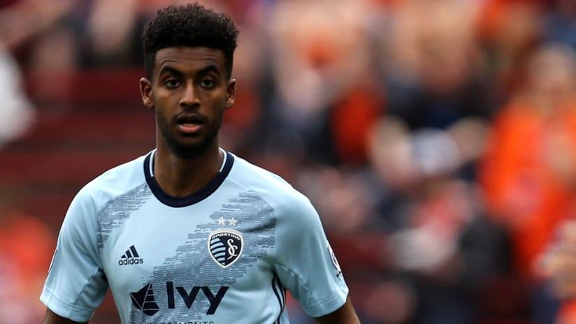 Gedion Zelalem - SKC - close shot