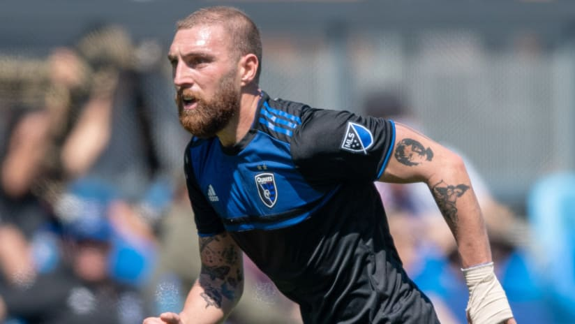 Guram Kashia - San Jose Earthquakes - close-up
