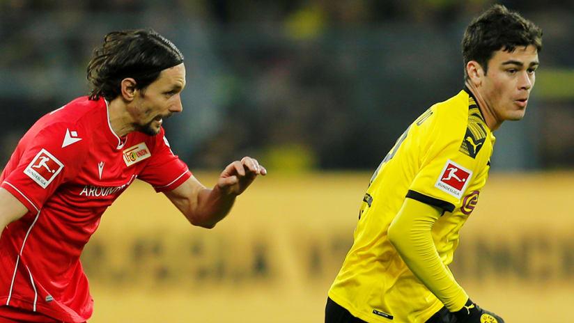 Gio Reyna - Dortmund - against 1. FC Union Berlin