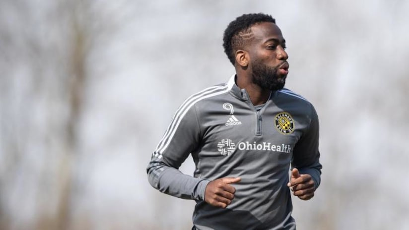 Columbus' Kevin Molino to miss start of season with hamstring injury