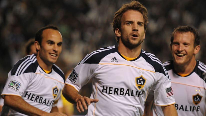 Mike Magee - LA Galaxy - 2012 - celebration