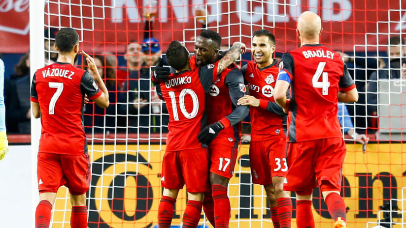 Toronto FC - celebration