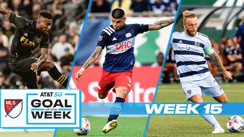 Vote for AT&T Goal of the Week - MLS Week 15