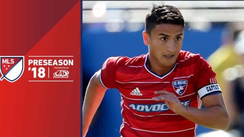 2018 preseason - Mauro Diaz - FC Dallas