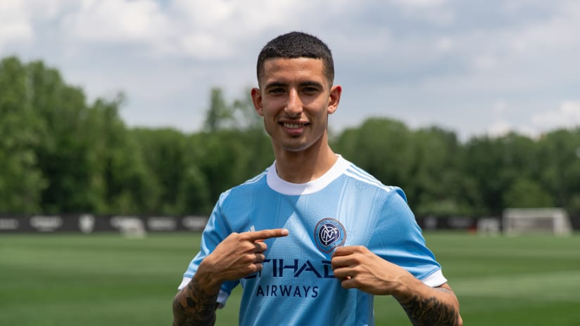 NYCFC's Uruguay youth int'l Santiago Rodriguez available to debut this weekend