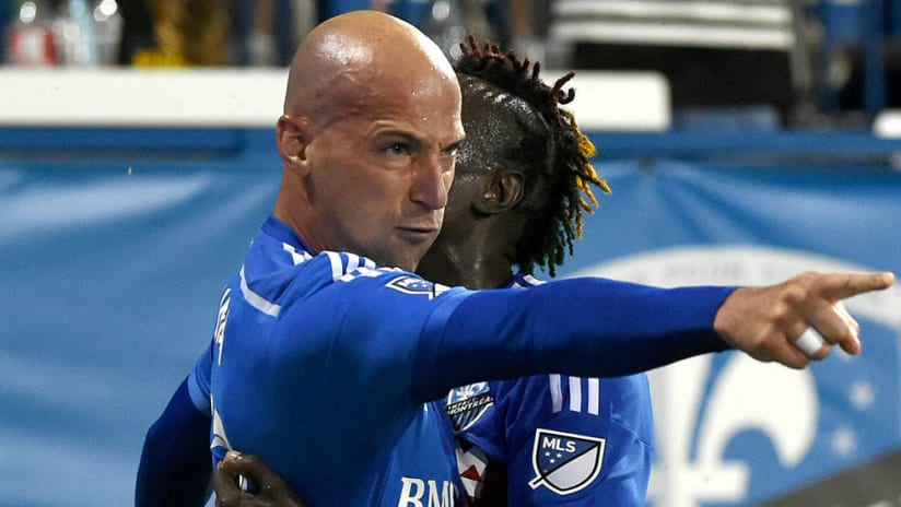Laurent Ciman - Montreal Impact - Points while embracing