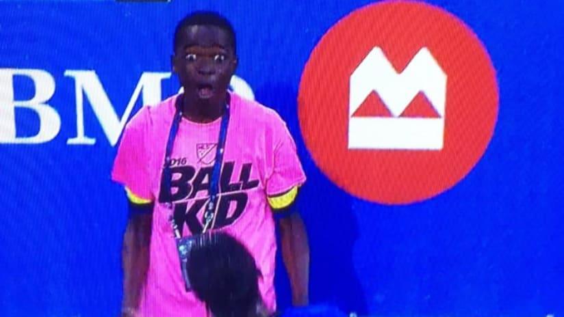 Stanislas Ouedraogo - Montreal Impact ball kid