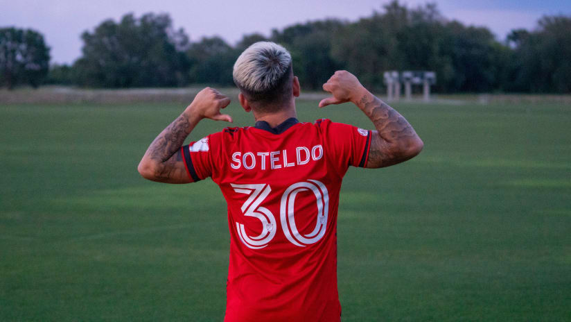 Toronto FC's Yeferson Soteldo: I want to make history like Josef Martinez