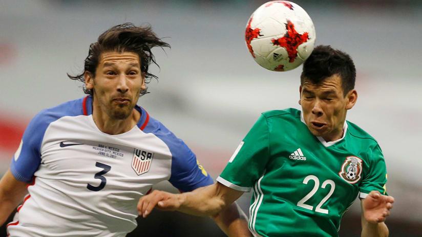 Omar Gonzalez - US national team - vs. Mexico