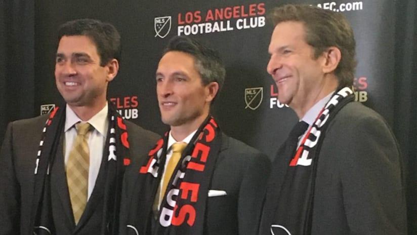 LAFC John Thorrington press conference - 12/8/15