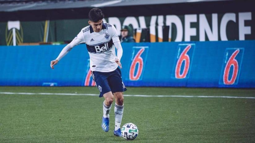 Cristian Guitierrez - Vancouver Whitecaps - Preseason