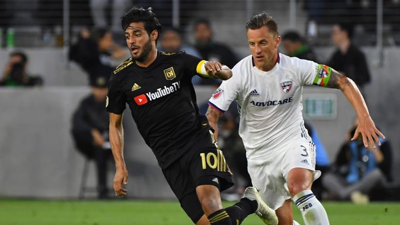 Carlos Vela - LAFC - Reto Ziegler - FC Dallas
