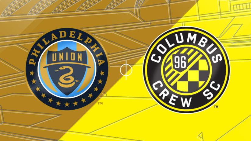 Philadelphia Union vs. Columbus Crew SC - Match Preview Image