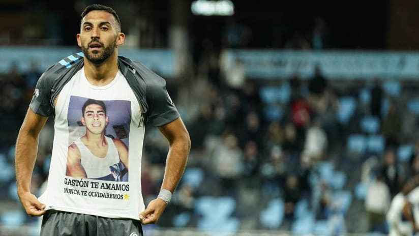 Ramon Abila makes emotional tribute after first Minnesota United goal