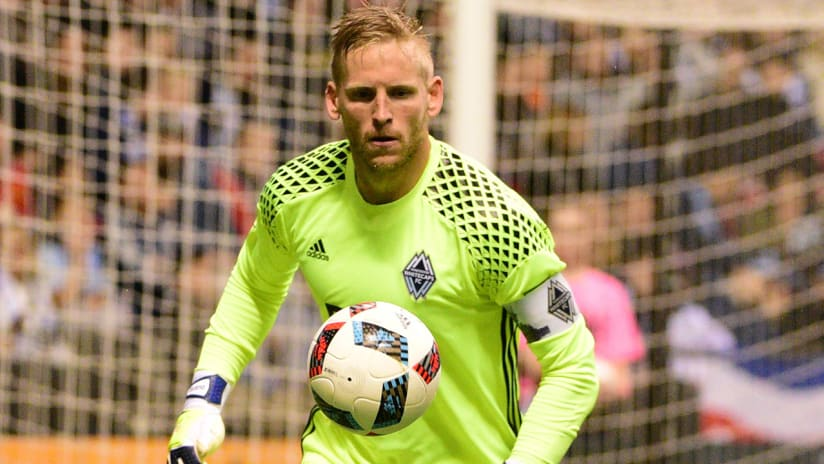David Ousted - Vancouver Whitecaps - eyes on the ball