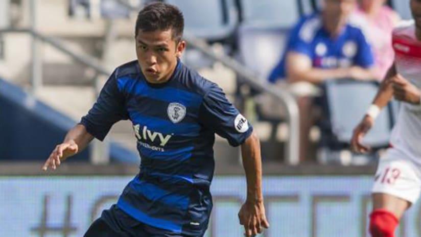 Felipe Hernandez – Sporting KC –signing