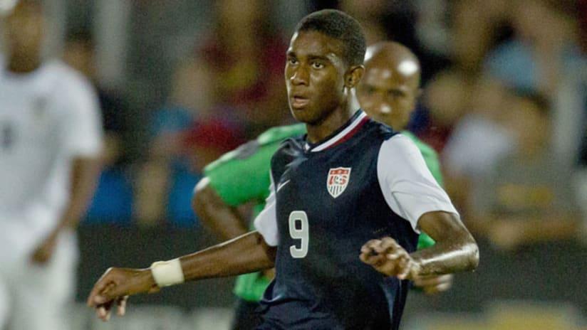 US Under-17 national team and LA Galaxy Academy striker Haji Wright