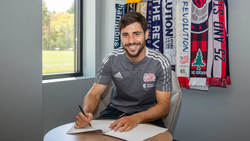 Carles Gil contract - New England Revolution