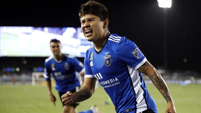 "San Jose's Eduardo ""Chofis"" Lopez named Week 26 Player of the Week"
