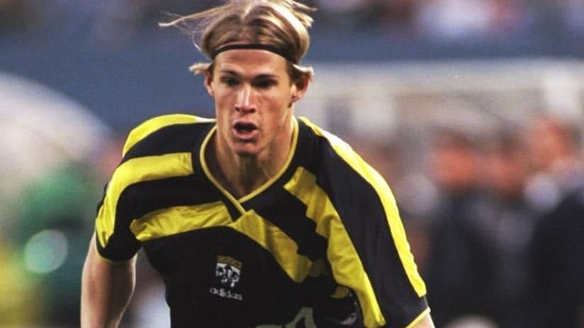 Brian McBride was the #1 pick in the 1996 MLS Inaugural Draft.