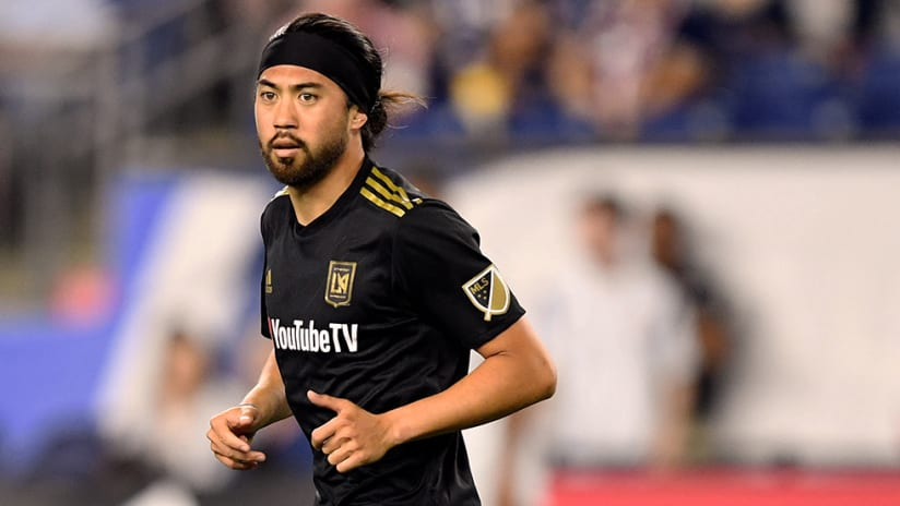 Lee Nguyen - LAFC - Close up