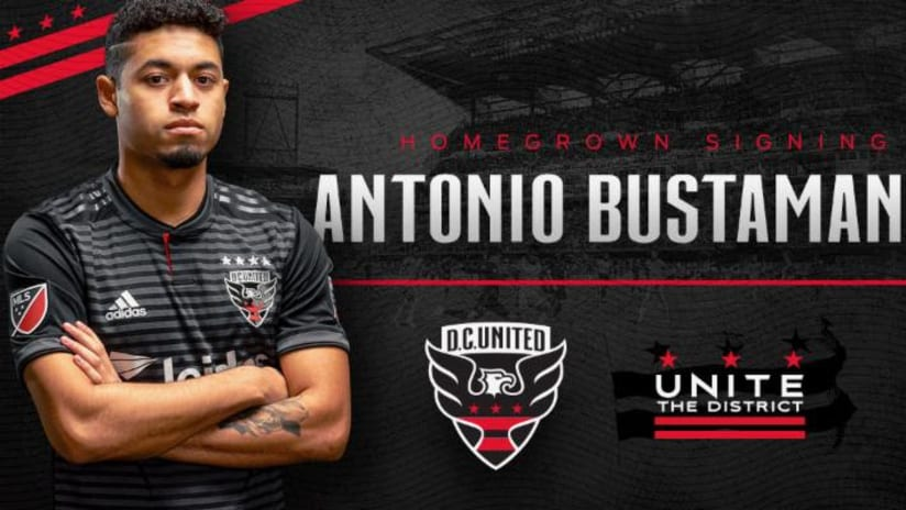 Antonio Bustamante - D.C. United