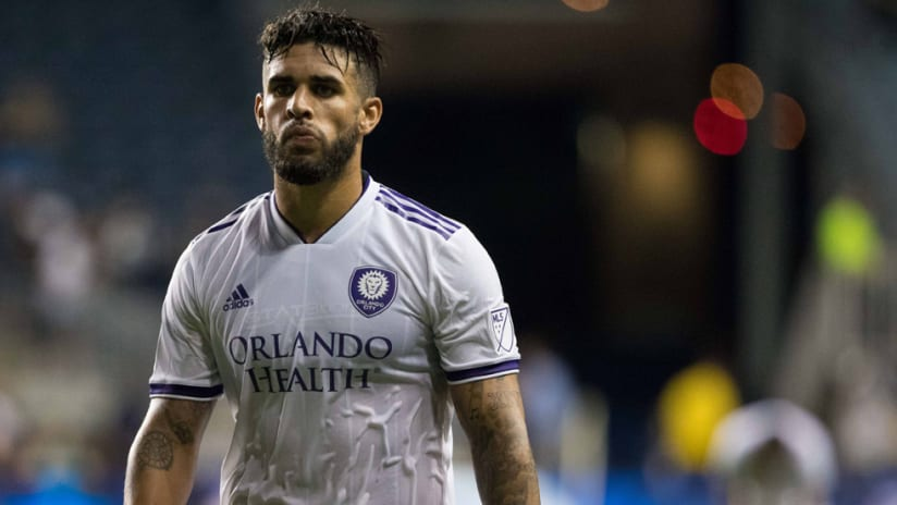 Dom Dwyer - Orlando City - after the 2018 Open Cup quarterfinals