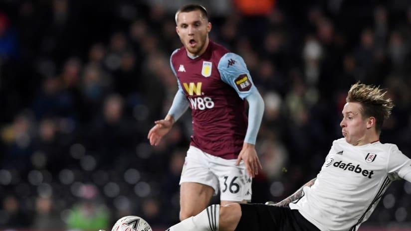 Indiana Vassilev - Aston Villa - vs Fulham
