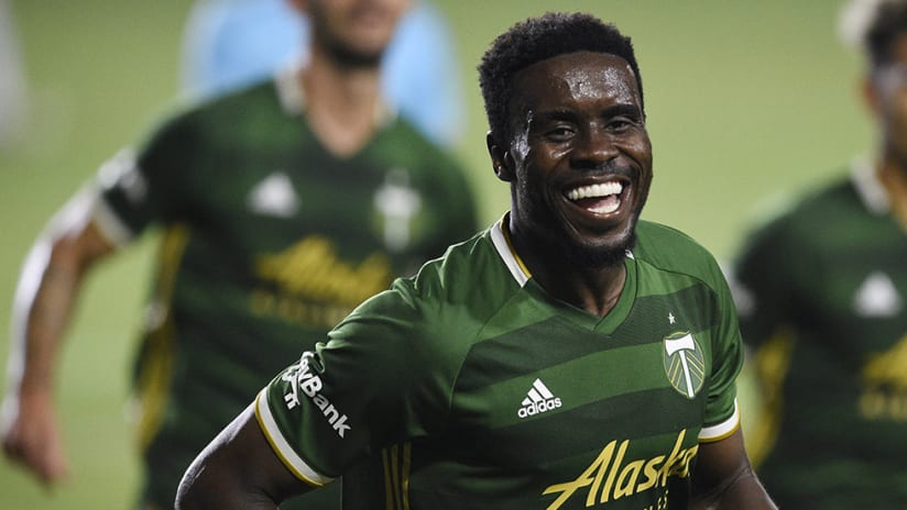 Larrys Mabiala - Portland Timbers - smile