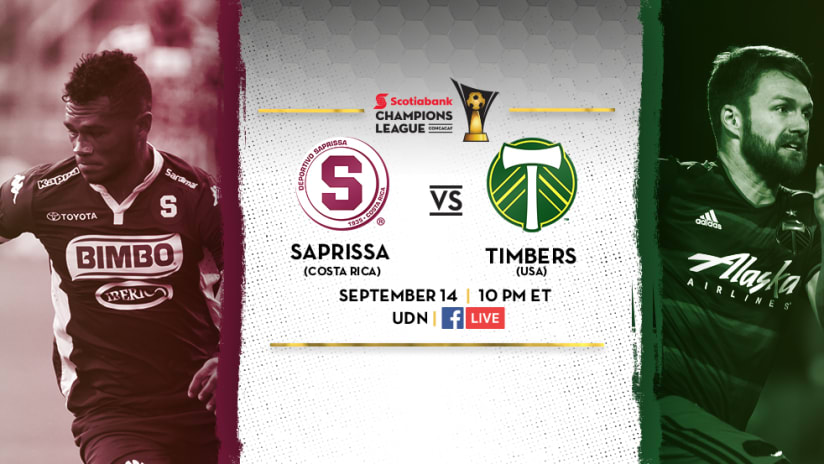 Saprissa vs. Portland Timbers - September 14, 2016 - CCL ExLink Image